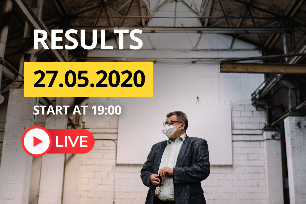 Viktar Babaryka goes live! May 27 round-up
