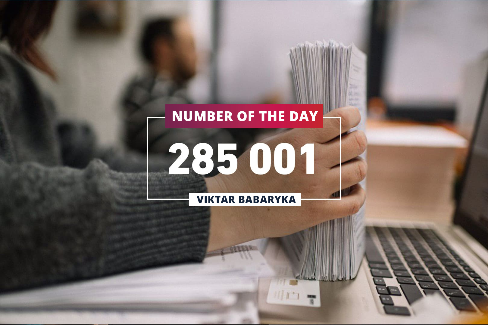 285 001 signatures! That is the record in Belarus