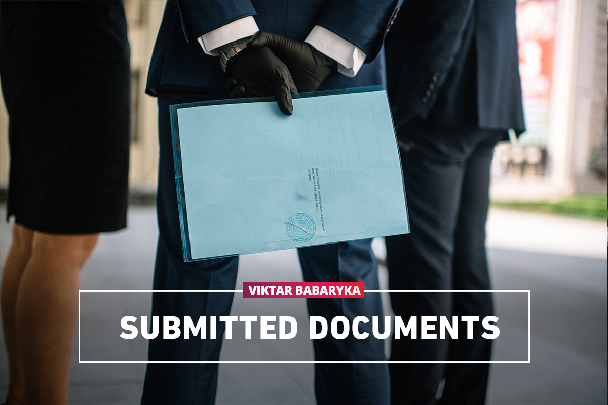 Submitted documents