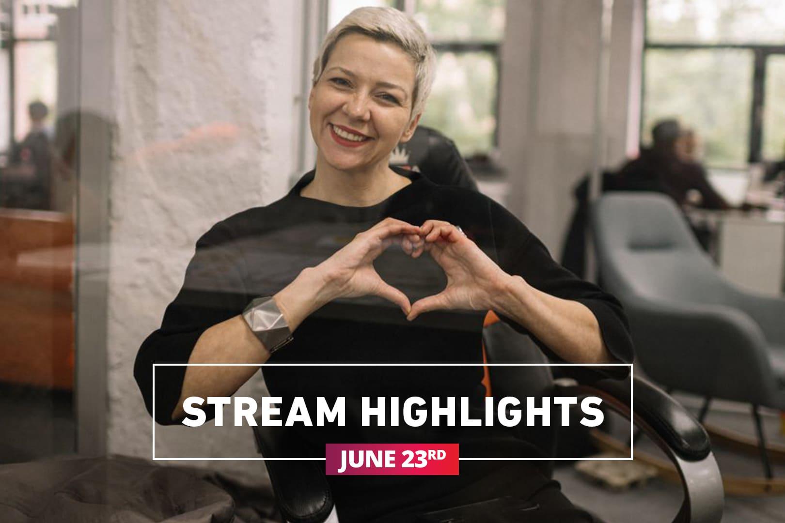 Stream highlights