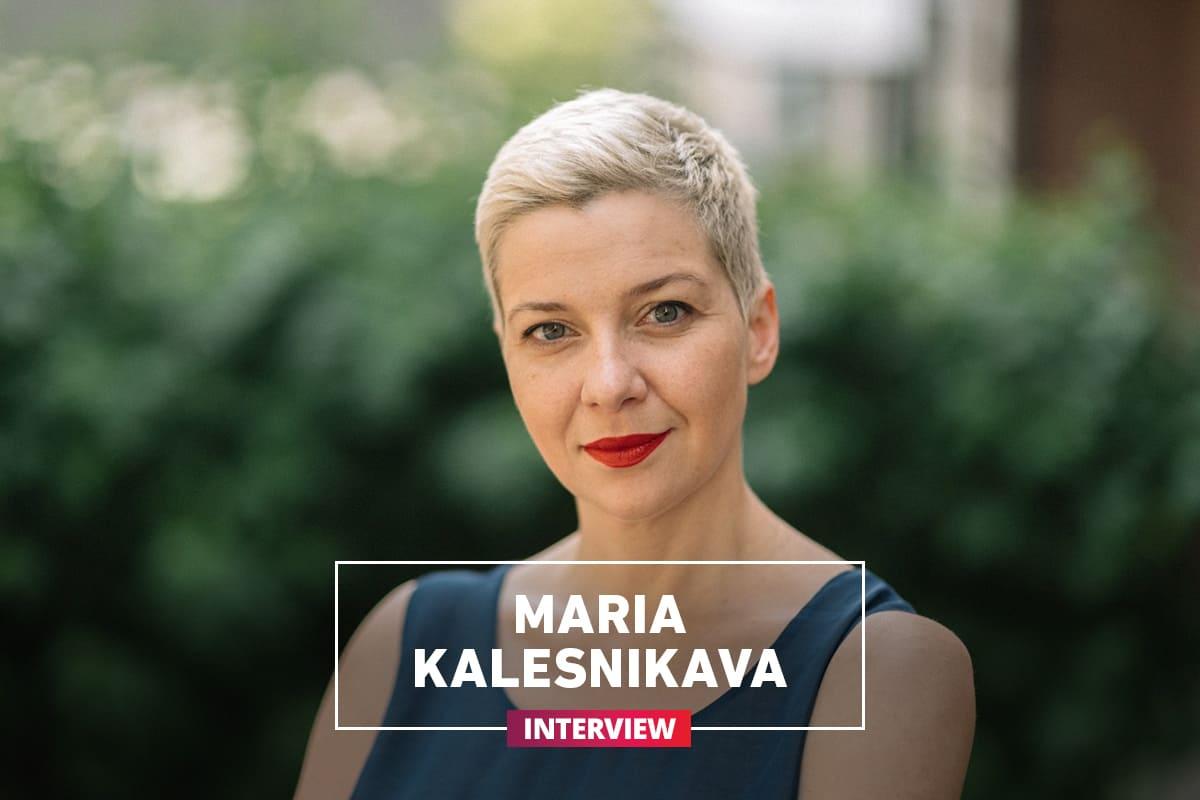 Maria Kalesnikava - about romantics, new Belarusians