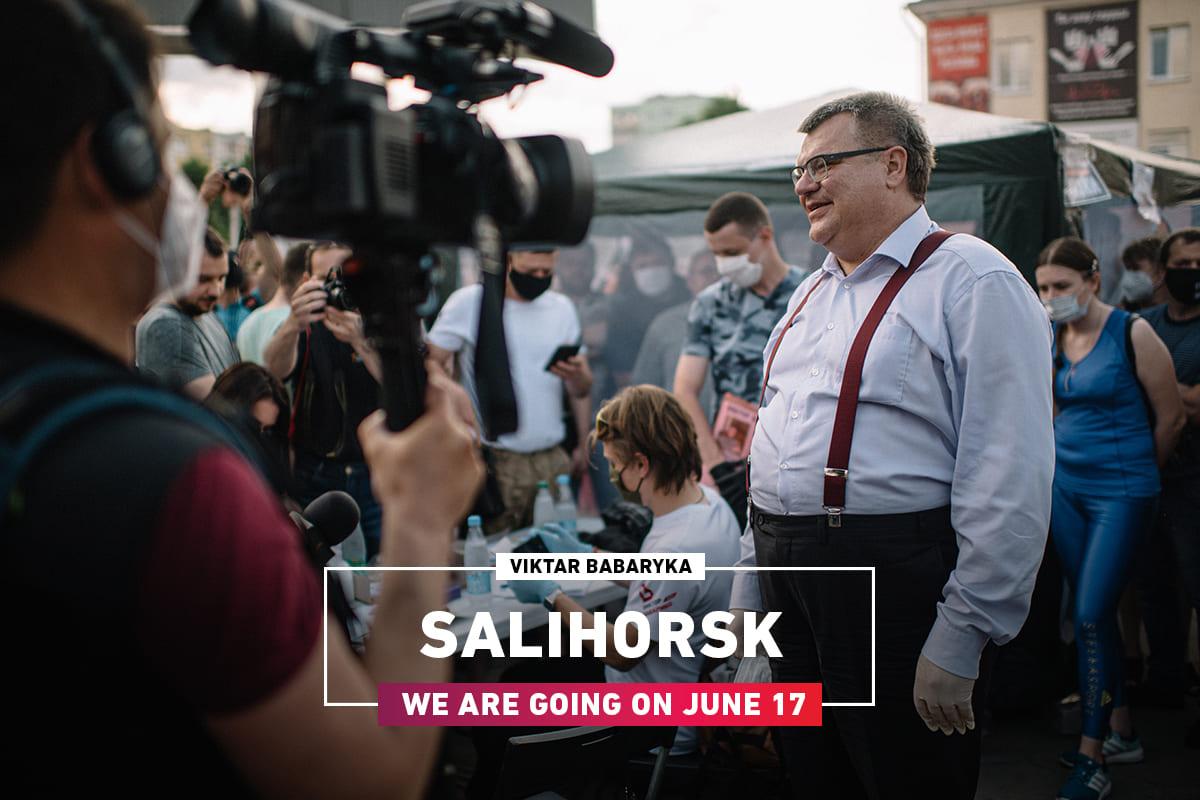 Viktor Babariko will visit the picket