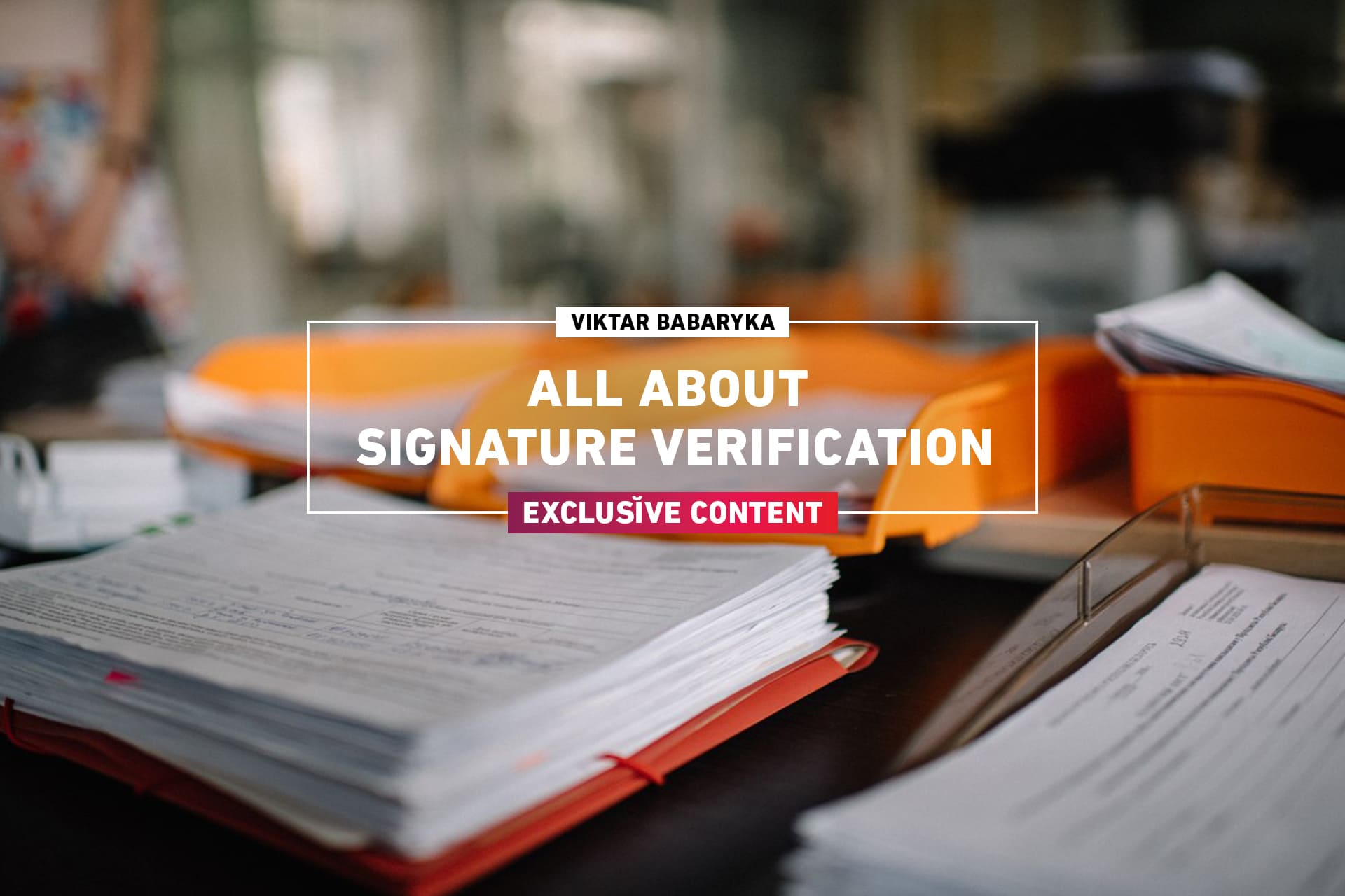 How Viktar Babaryka's team collects and verifies signatures